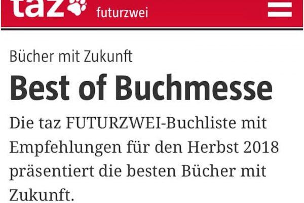 """""""Macht Platz!"""" ist Best of Buchmesse"""