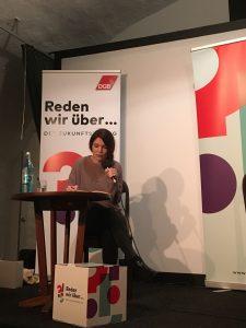 Lesung im Rahmen des Zukunftsdialogs des DGB Lohr am Main.
