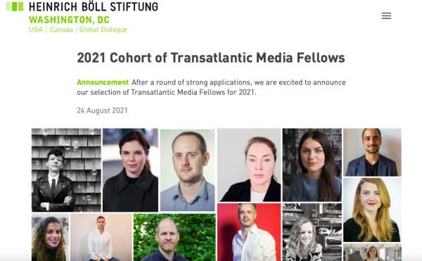 Transatlantic Media Fellow